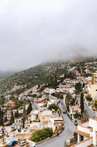 Cloudy Taormina, Sicily