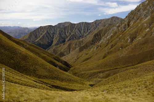 Arid mountain landscape