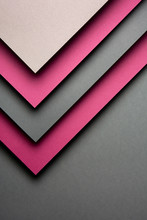 Pink And Grey Lines Paper Design