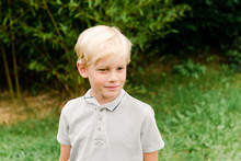 Little Blonde Boy