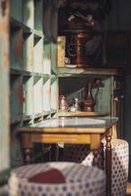 Vintage Retro Styled Coffee Shop In Sarajevo