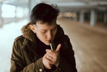 Real Lesbian Girl Smoking On T...
