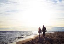 Love Story, Pair On The Beach
