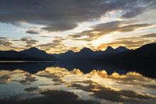 Serene Lake McDonald, Glacier NP