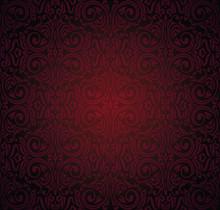 Dark Red Brown Wallpaper Vecto...