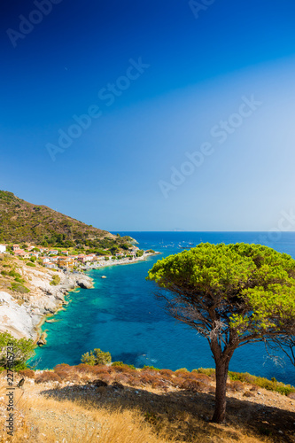 Fotomural Elba island sea near Pomonte