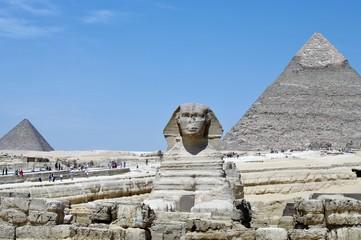 Giza pyramid complex & Great Sphinx of Giza.