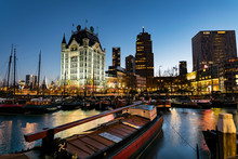 The Old Harbour Of Rotterdam, Holland