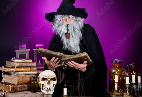 Photo Halloween wizard