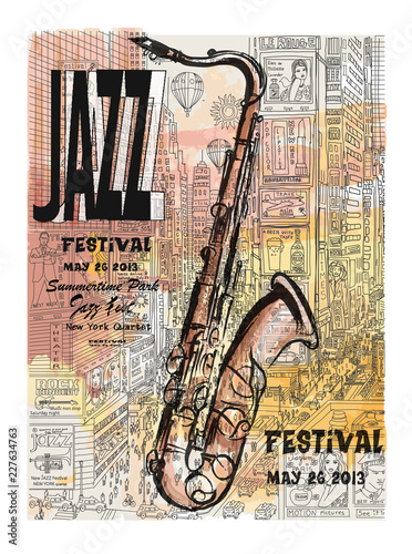 Recess Fitting Art Studio Jazz in New York, poster