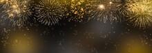 Feuerwerk Abstrakter Hintergrund
