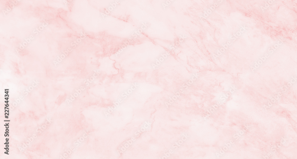 Fototapety, obrazy: Pink marble texture background, abstract marble texture (natural patterns) for design.