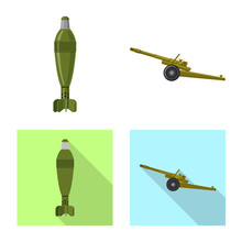 Vector Design Of Weapon And Gu...