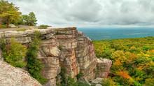 Panoramic View In Minnewaska S...
