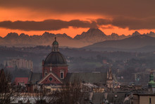 View Of The Cracow With Tatra ...