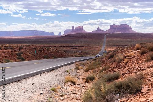 In de dag Centraal-Amerika Landen Monument Valley