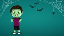 Niño Disfrazado En Halloween