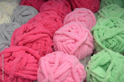 Photo  Madejas de lana