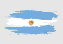 Brush Argentina National Fla...