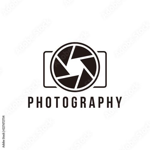 Fototapeta Photography logo template obraz na płótnie