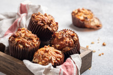 Banana Bread Nut Muffins