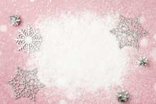 Cherry Pink Christmas Frame Of...