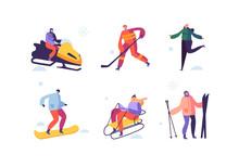 Winter Sport Activities With C...