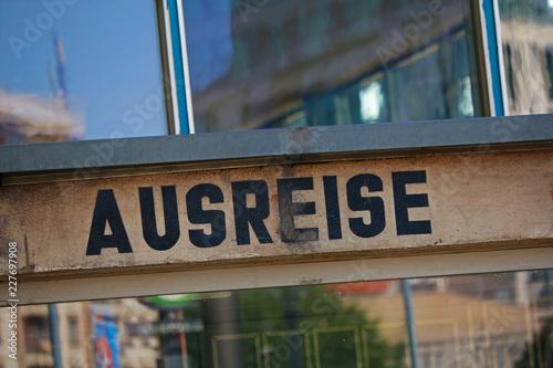 Photo Ausreise