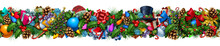 Christmas Decoration Horizonta...