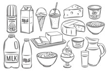 Dairy Product Icons