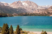 June Lake On A Warm Summer Day - California