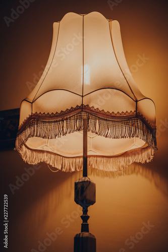 Fotografia  PRL Old lamp
