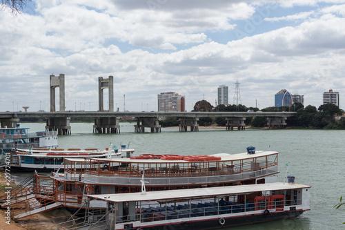 Barcos no Rio São Francisco