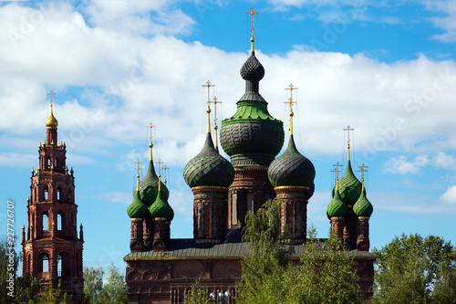Foto op Canvas Europa Saint John the Baptist church in Tolchkovo