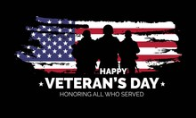 Veteran's Day Poster.Honoring ...