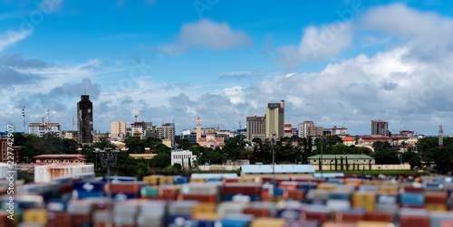 Fotomural nice view of conakry