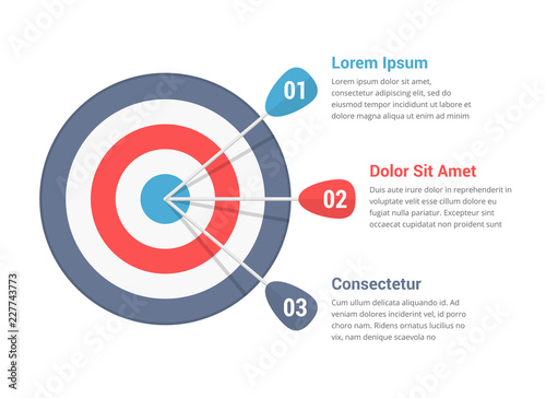 Photo Target Infographics
