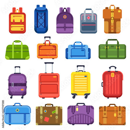 Baggage suitcase Canvas Print