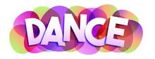 Dance Word Vector Banner
