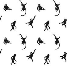 Seamless Monkeys Pattern