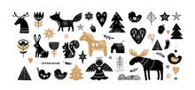 Christmas Illustrations, Banne...