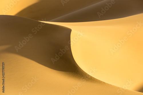 Poster de jardin Desert de sable desert sand dunes closeup