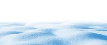 Snowdrift Isolated On White Ba...