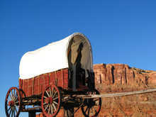 Covered Wagon Display In South...