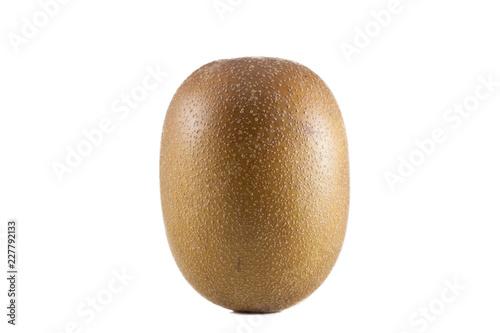 golden kiwi isolated on white background