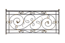 Decorative Iron Fence, Railing.