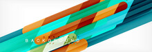 Abstract Colorful Lines, Moder...
