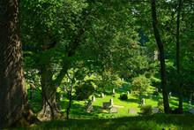 Old Cemetery In Sleepy Hollow New York