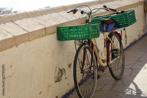 bicicleta de pescador