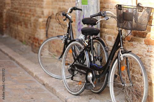 Fotobehang Fiets bicicletas de calle